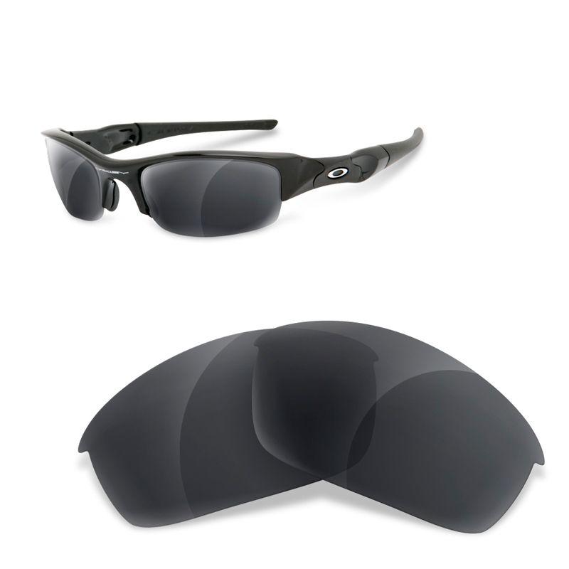 lentes polarizadas oakley flak jacket Black iridium gafas polarizadas pesca