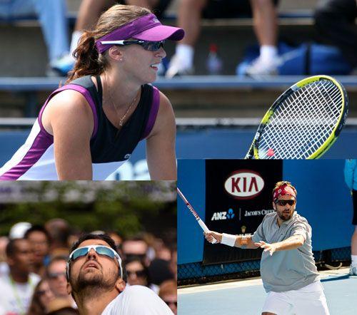 Gafas de sol para tenis