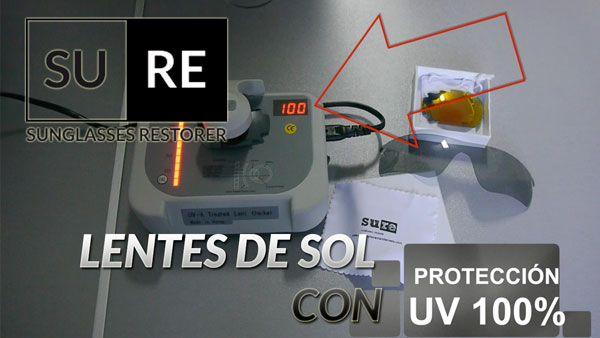 Lentes de sol con protección UV